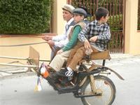SPERONE - sfilata di cavalli - festa San Giuseppe Lavoratore - 29 aprile 2012  - Custonaci (659 clic)