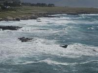 Golfo del Cofano e mare in tempesta - 8 aprile 2012  - Macari (1460 clic)