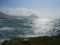 Golfo del Cofano e mare in tempesta - 8 aprile 2012  - Macari (530 clic)