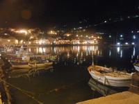 la città vista dal porto a sera - 31 marzo 2012  - Castellammare del golfo (1124 clic)