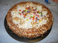 torta gelato alla nocciola con panna - 1 luglio 2012  - Alcamo (990 clic)