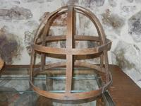 cerchio in legno per bracere - piccolo museo etno-antropologico - Bosco di Scorace - Il Contadino -