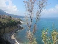 un tratto di costa dalla periferia est della città - 26 marzo 2012  - Castellammare del golfo (701 clic)