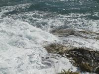 Golfo del Cofano e mare in tempesta - 8 aprile 2012  - Macari (698 clic)