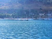 vista sul porto - 7 settembre 2012  - Castellammare del golfo (277 clic)