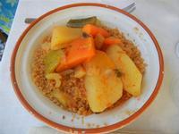 la casa del cous cous sanvitese - cous cous alle verdure - 18 agosto 2012  - San vito lo capo (481 clic)