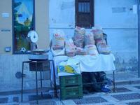 PLAS 2012 - bancarella di frutta secca - 16 settembre 2012  - Castellammare del golfo (935 clic)