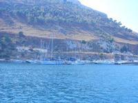 vista sul porto - 7 settembre 2012  - Castellammare del golfo (286 clic)