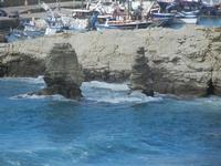 scorcio del porto e faraglioni - 15 aprile 2012  - Terrasini (1196 clic)