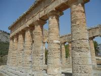 il tempio - 5 agosto 2012  - Segesta (667 clic)