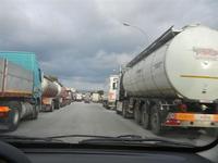 protesta degli autotrasportatori - Movimento dei Forconi - 20 gennaio 2012   - Alcamo (1017 clic)
