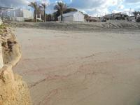 sfumature rosa corallo sulla piccola spiaggia - 12 febbraio 2012  - Cornino (799 clic)