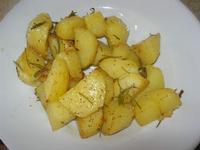 patate al rosmarino al forno - La Torre di Nubia - 16 luglio 2012  - Nubia (321 clic)