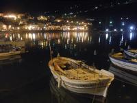 gioco di luci al porto di sera - 31 marzo 2012  - Castellammare del golfo (1553 clic)