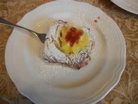 zeppola alla crema d'arancia e marmellata di ciliege - Due Palme - 5 febbraio 2012  - Santa ninfa (1542 clic)