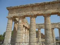 il tempio - 5 agosto 2012  - Segesta (626 clic)