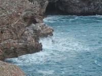 scogliera nella caletta - 15 aprile 2012  - Terrasini (810 clic)