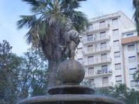 fontana con putto - dettaglio - 6 settembre 2012  - Sciacca (330 clic)