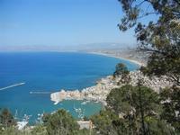 panorama città e golfo - 6 maggio 2012  - Castellammare del golfo (697 clic)