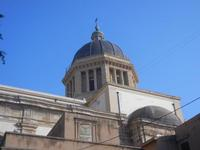 cupola della Chiesa di San Giuseppe - centro storico - 9 settembre 2012  - Marsala (384 clic)