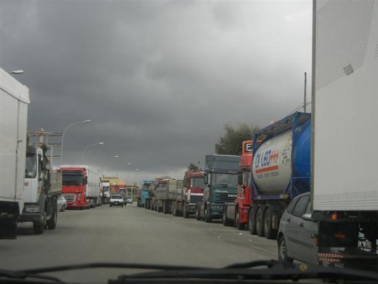 protesta degli autotrasportatori - ALCAMO - inserita il 19-Mar-14