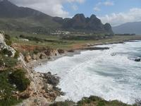 Golfo del Cofano e mare in tempesta - 8 aprile 2012  - Macari (467 clic)