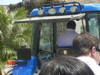 SIRIGNANO - Agriturismo - trattore e rimorchio per giro nei campi - 1 maggio 2012  - Monreale (730 clic)