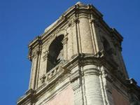 il campanile della Chiesa Parrocchiale di San Giuliano - 1 aprile 2012  - Erice (542 clic)