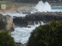 mare in tempesta all'Isulidda - 8 aprile 2012  - Macari (490 clic)