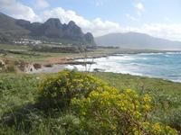 Golfo del Cofano e mare in tempesta - 8 aprile 2012  - Macari (735 clic)