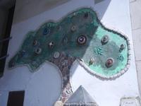 Cortile Carini - Laboratorio di Cocci per bambini - particolare - 6 settembre 2012  - Sciacca (326 clic)