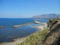 panorama costiero e Golfo di Castellammare - 11 agosto 2012  - Trappeto (1401 clic)
