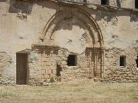 ex Chiesa di S. Maria della Stella - particolare architettonico - 2 giugno 2012  - Alcamo (338 clic)