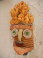 Cortile Carini - Laboratorio di Cocci per bambini - particolare - 6 settembre 2012  - Sciacca (378 clic)