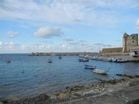 porto e Torre Saracena - 12 febbraio 2012  - Bonagia (951 clic)