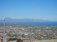 panorama Borgetto, Partinico e Golfo di Castellammare (1009 clic)