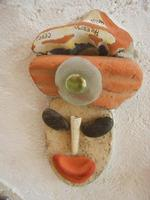 Cortile Carini - Laboratorio di Cocci per bambini - particolare - 6 settembre 2012  - Sciacca (292 clic)