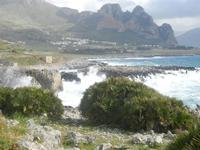 mare in tempesta all'Isulidda - 8 aprile 2012  - Macari (545 clic)