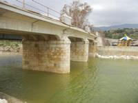 ponte sul fiume - Baia di Guidaloca - 11 marzo 2012  - Castellammare del golfo (364 clic)