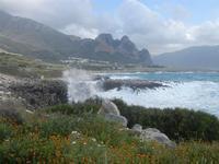 mare in tempesta all'Isulidda - 8 aprile 2012  - Macari (682 clic)