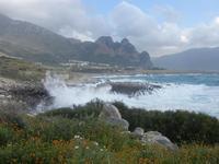mare in tempesta all'Isulidda - 8 aprile 2012  - Macari (629 clic)
