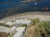 scalinata per accedere al mare - 11 agosto 2012  - Trappeto (659 clic)