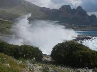 mare in tempesta all'Isulidda - 8 aprile 2012  - Macari (671 clic)