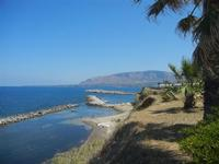 panorama costiero e Golfo di Castellammare - 11 agosto 2012  - Trappeto (588 clic)