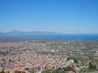 panorama Borgetto, Partinico e Golfo di Castellammare (996 clic)