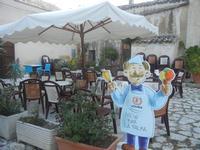 un angolo del Baglio Isonzo - 8 maggio 2012  - Scopello (679 clic)
