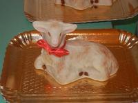 laboratorio agnelli pasquali - realizzati con pasta di mandorle presso l'I.C. G. Pascoli - 20 marzo 2012  - Castellammare del golfo (602 clic)
