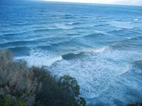 panorama Golfo di Castellammare dalla periferia est della città - 25 gennaio 2012  - Castellammare del golfo (383 clic)