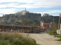 il belvedere visto dalla Fornace  - 26 febbraio 2012  - Sciacca (997 clic)