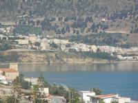 Zona Plaja - panorama ovest del Golfo di Castellammare e città - 19 giugno 2012  - Alcamo marina (358 clic)